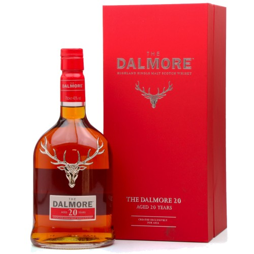 Dalmore 20 Years Old Single Malt Scotch Whisky 700ml