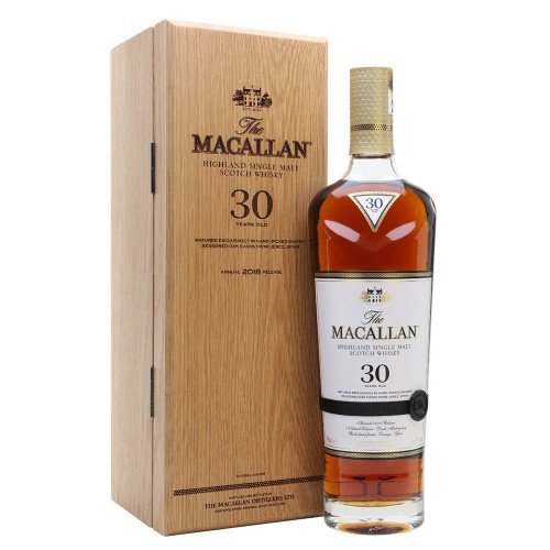 The Macallan 30 Years Old Sherry Oak Single Malt Whisky  (2019 Release)