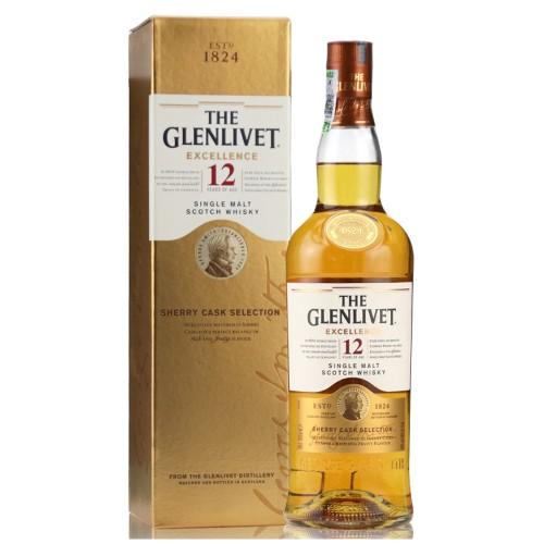 The Glenlivet 12 Years Old Excellence Single Malt Whisky 700ml