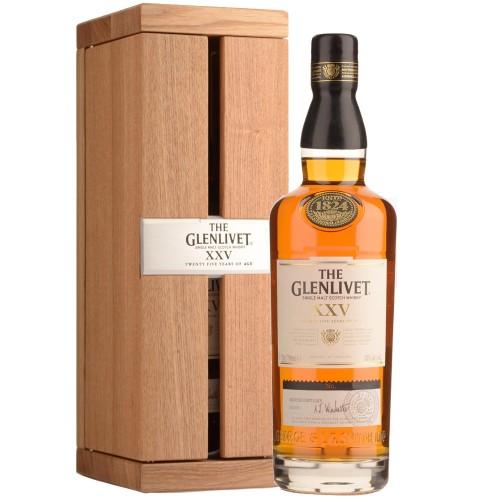 The Glenlivet 25 Years Old Single Malt Whisky 700ml Gift Box