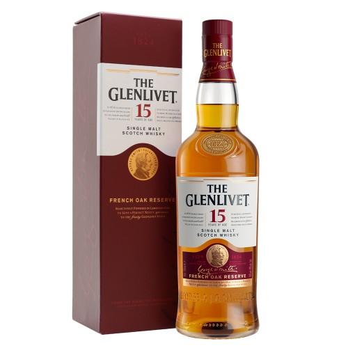The Glenlivet 15 Years Old Single Malt Whisky 700ml
