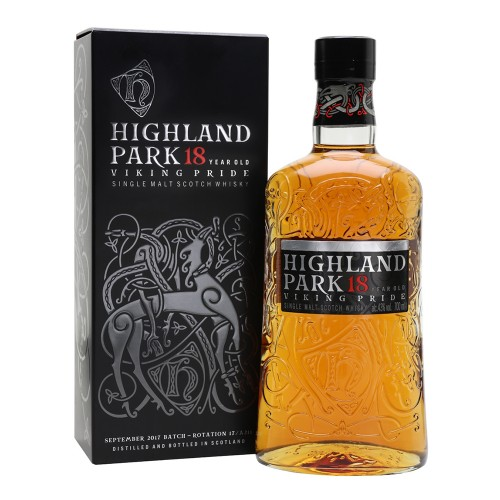 Highland Park 18 Years Old Single Malt Whisky 700ml