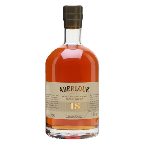 Aberlour 18 Year Old Highland Single Malt Scotch Whisky 500ml