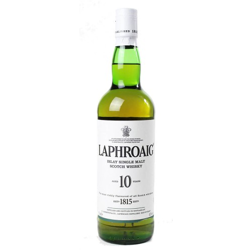 Laphroaig 10 Years Old Islay Single Malt Whisky 700ml