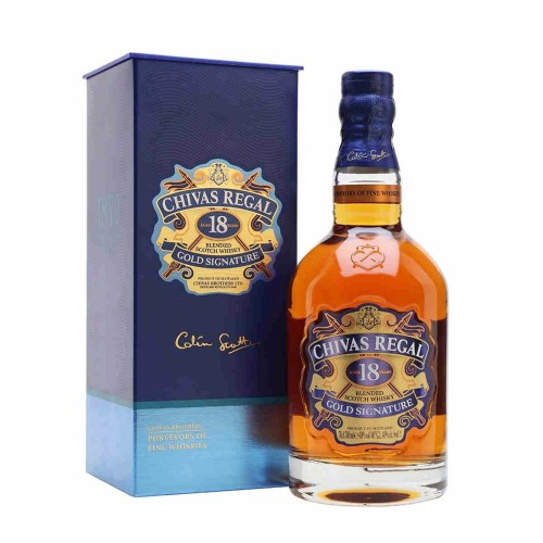 Chivas Regal 18 Years Gold Signature Whisky, 700ml
