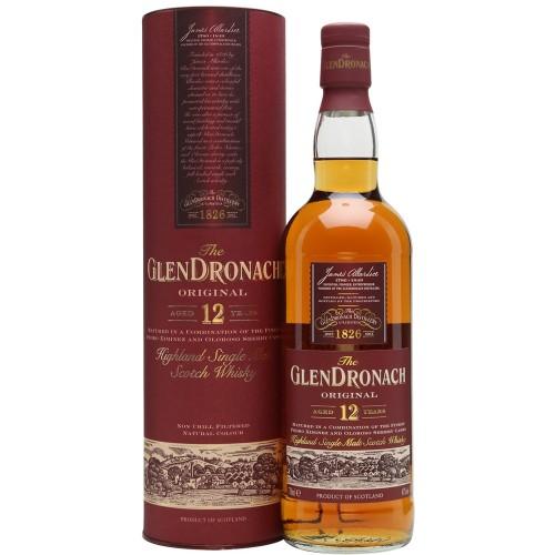 The GlenDronach Original Aged 12 Years 700ml