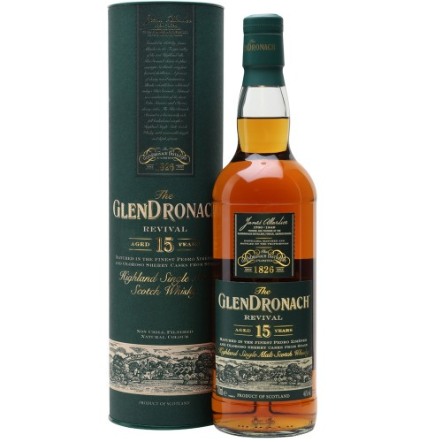 The GlenDronach Revival Aged 15 Years 700ml