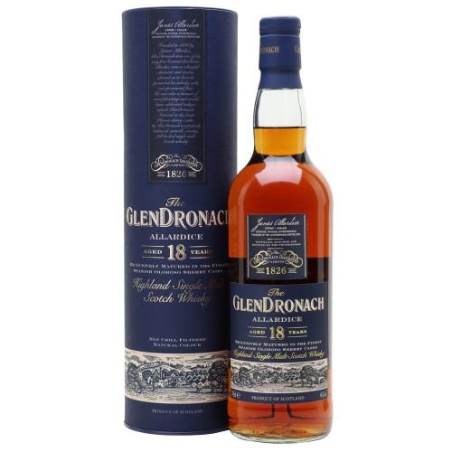 The GlenDronach Allardice Aged 18 Years 700ml