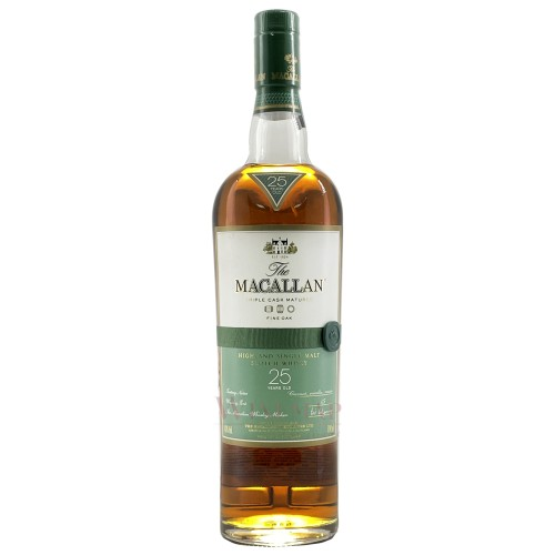The Macallan Fine Oak Triple Cask Matured 25 Year Old Single Malt Scotch Whisky 700ml