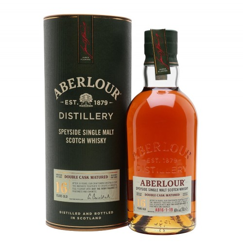 Aberlour 16 Year Old Speyside Single Malt Scotch Whisky 700ml
