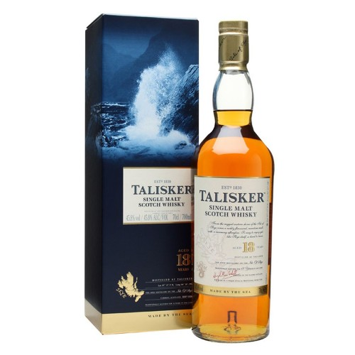 Talisker 18 Years Old Single Malt Whisky 700ml