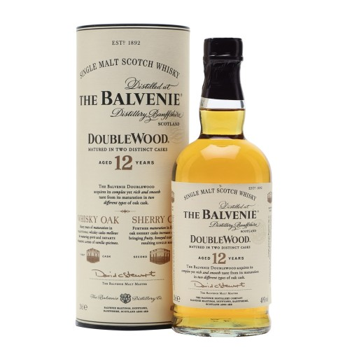 The Balvenie 12 Years Old Double Wood Single Malt Whisky 700ml