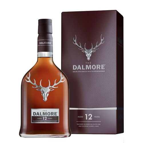 Dalmore 12 Years Old Single Malt Whisky 700ml