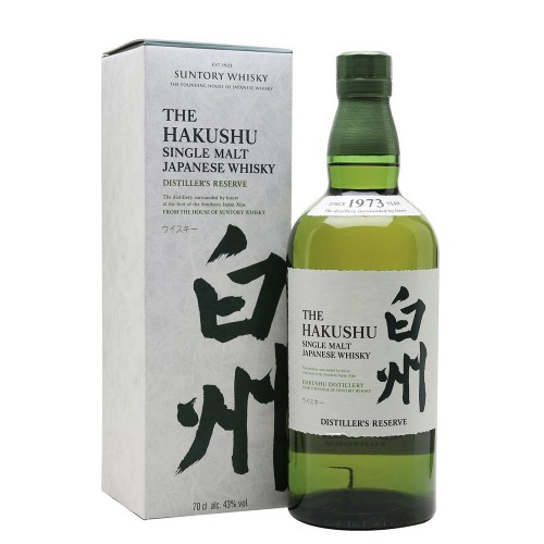 The Hakushu Single Malt Whisky Distillers Reserve 700ml