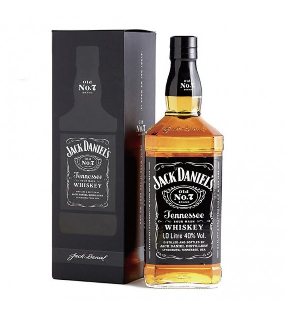 Jack Daniel Old No.7 Tennessee Whisky 1000ml