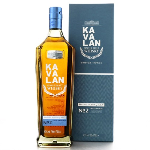 Kavalan Distillery Select Single Malt Whisky No. 2 700ml (With Box)