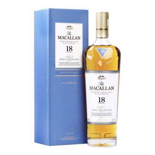 The Macallan 18 Year Old Triple Cask Single Malt Whisky 700ml