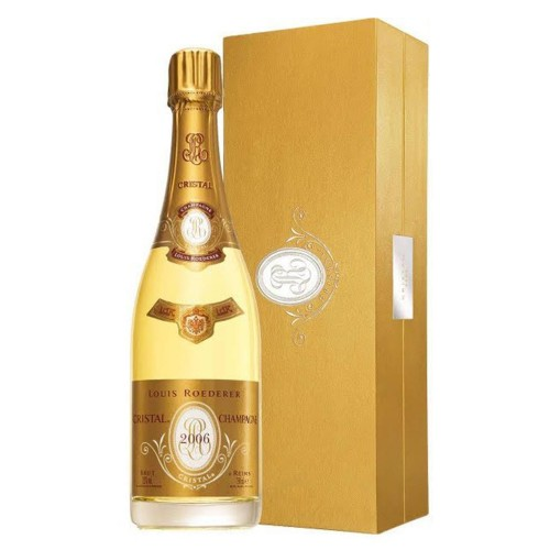 2006 Louis Roederer Cristal 750ml (Gift Box)
