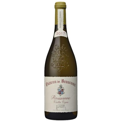 Chateau de Beaucastel Chateauneuf-du-Pape Blanc Roussanne Vieilles Vignes 2017, 750ml