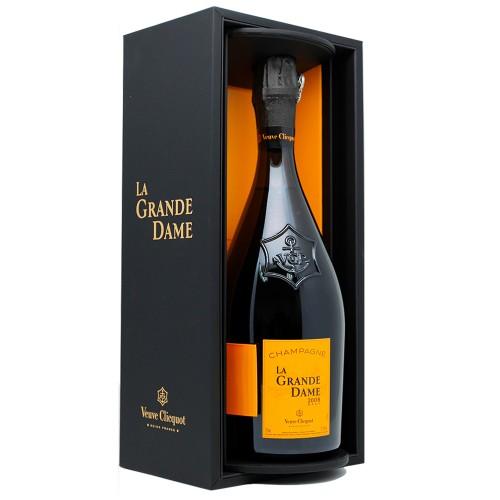 Veuve Clicquot La Grande Dame Brut Champagne 2008 Gift Box, 750ml